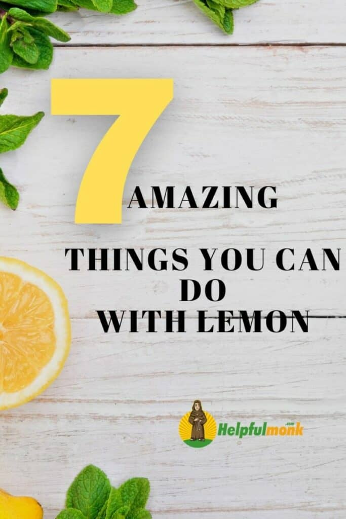 7 Amazing things you can do with lemon