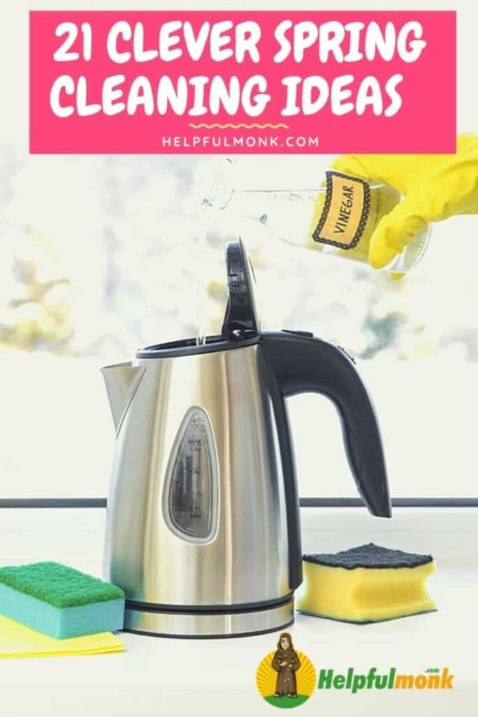 21 Clever Spring-Cleaning Ideas